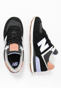 New Balance - WL574 - Sneakersy niskie - black - 3