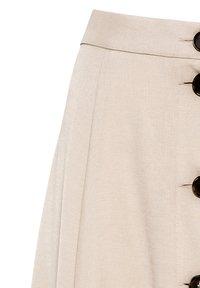 HALLHUBER - A-line skirt - hellbeige - 4