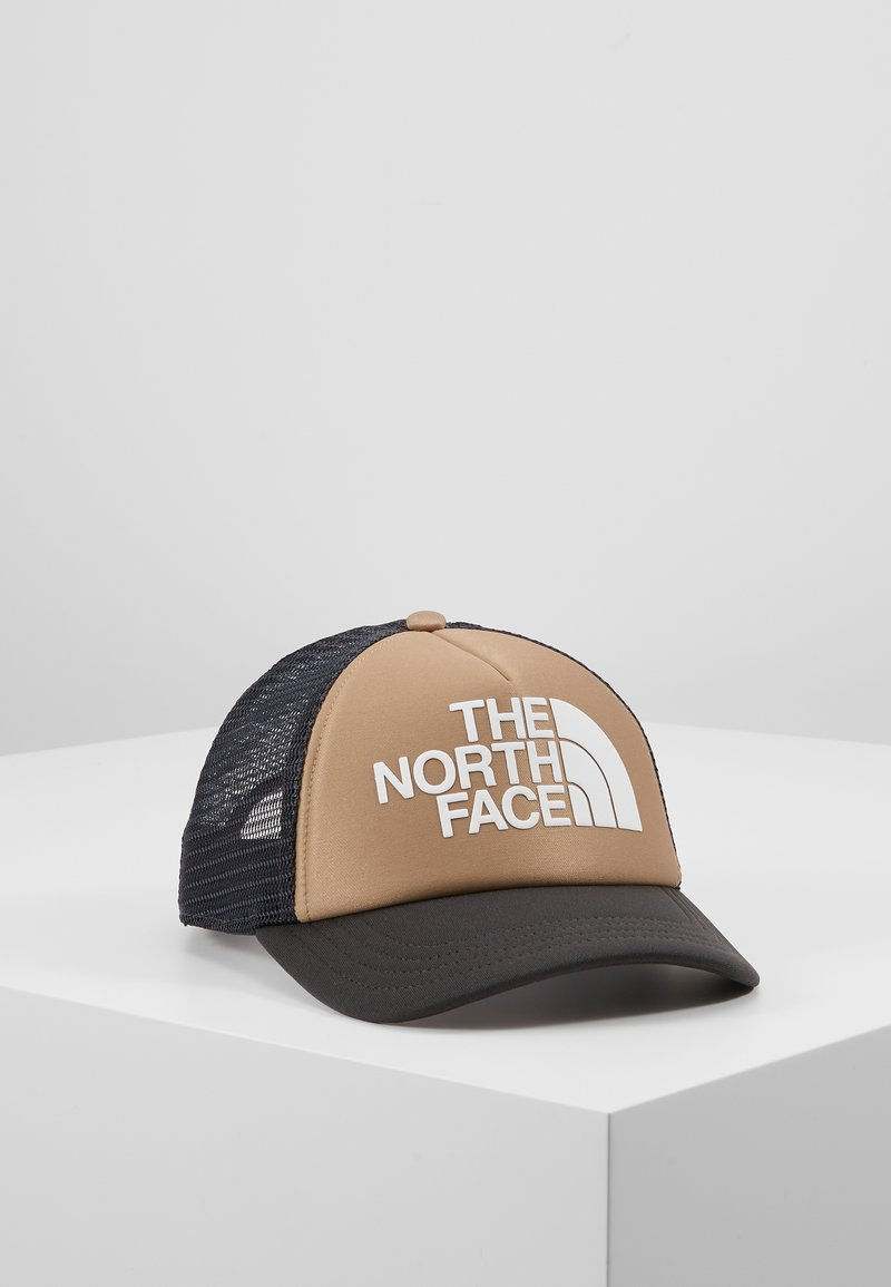 The North Face - LOGO TRUCKER - Kšiltovka - kelp tan/asphalt grey