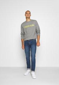 Calvin Klein - EMBROIDERY LOGO - Sweatshirt - grey - 1