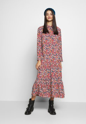 SMOCK PEPLUM DRESS - Vestido camisero - multi
