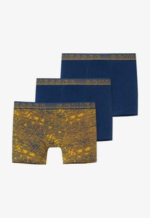 3 PACK - Pants - mottled light blue