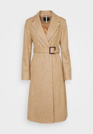 BELT WRAP - Classic coat - camel