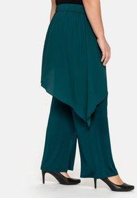 Sheego - Trousers - deep green - 3