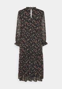 Vero Moda - VMSYLVIA CALF DRESS - Vestito estivo - black/rose - 1