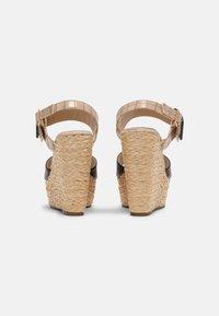 Laura Biagiotti - Platform sandals - beige - 3