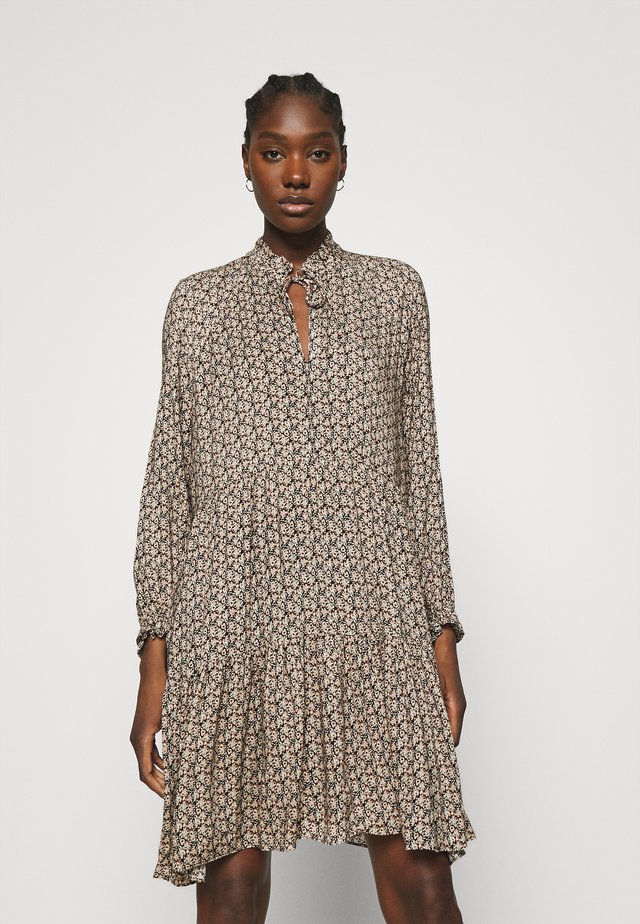 FRANK DRESS - Robe d'été - black