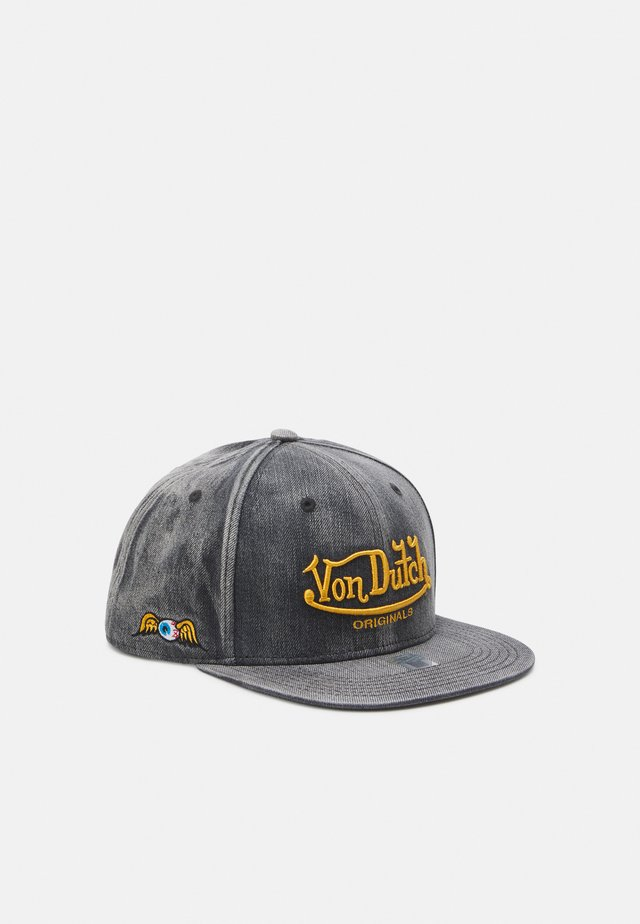 FLAT BILL UNISEX - Cap - washed black