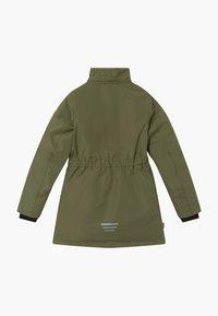 TrollKids - GIRLS ALESUND COAT - Down coat - khaki green - 2