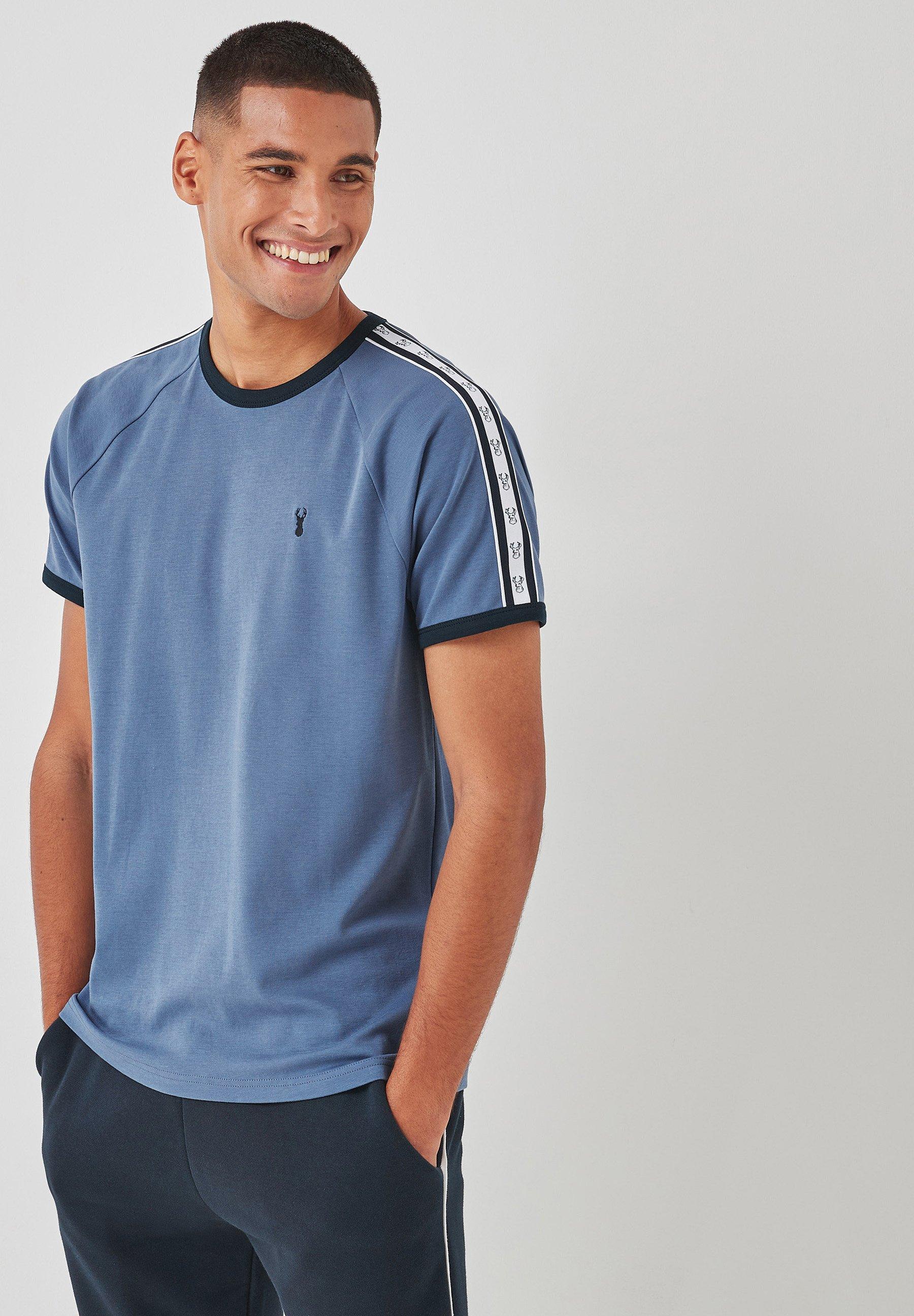 Herrer TAPE SHOULDER - T-shirts print