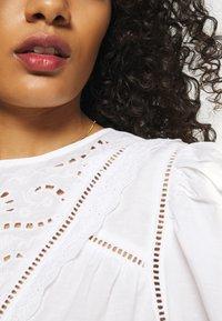 Lindex - BLOUSE ANNELI - Bluser - white - 6