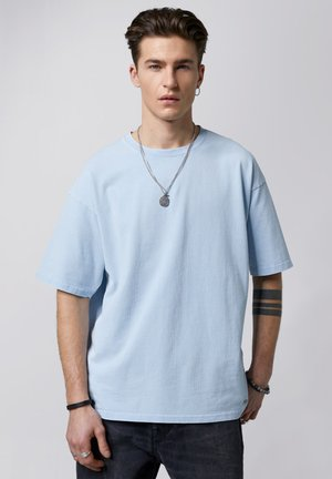 YORICK - Basic T-shirt - vintage ice blue