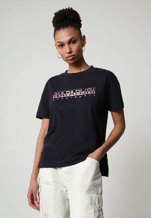 T-shirt imprimé - blu marine