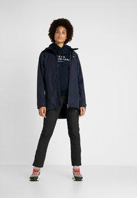 Didriksons - NOOR WOMENS - Waterproof jacket - dark night blue - 1