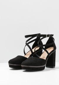 Simply Be - WIDE FIT BELLONA - High heels - black - 2