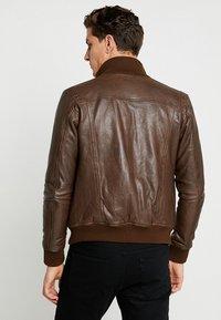 Serge Pariente - SOUL - Leather jacket - mocca - 2