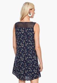 s.Oliver - Day dress - dark blue aop mini flowers - 2