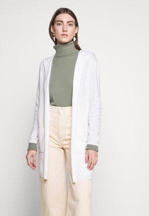 CARDIGAN OPEN - Cardigan - pristine white
