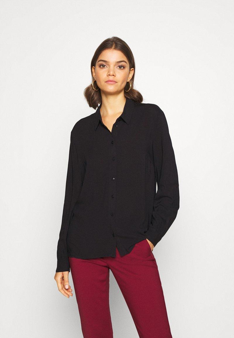 JDY - Button-down blouse - black