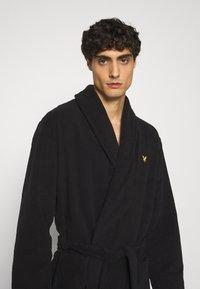Lyle & Scott - LUCAS - Dressing gown - black - 3