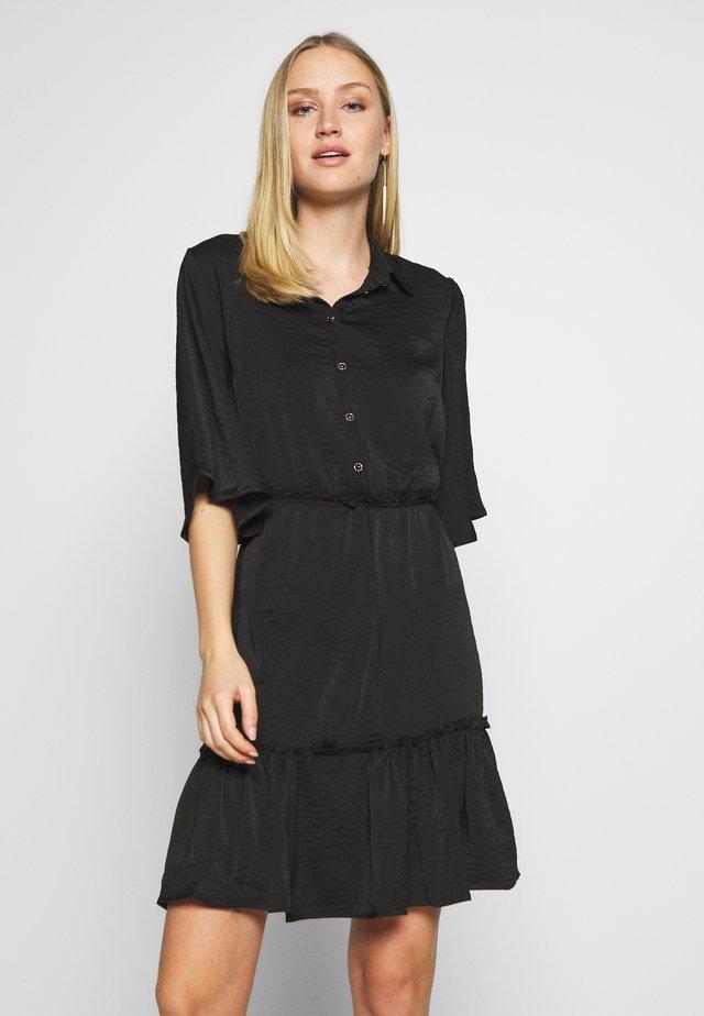 SARIAN  - Vestido camisero - black