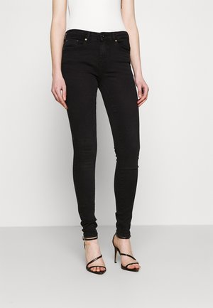 ONLPAOLA LIFE - Jeans Skinny Fit - black denim