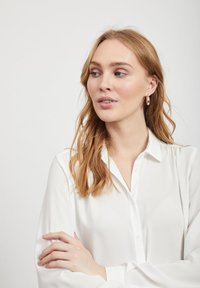 Vila - Button-down blouse - white - 3