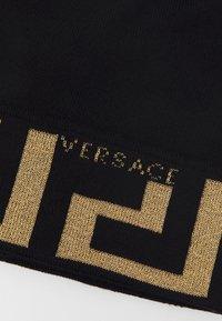 Versace - BEANIE UNISEX - Lue - black/gold-coloured - 4