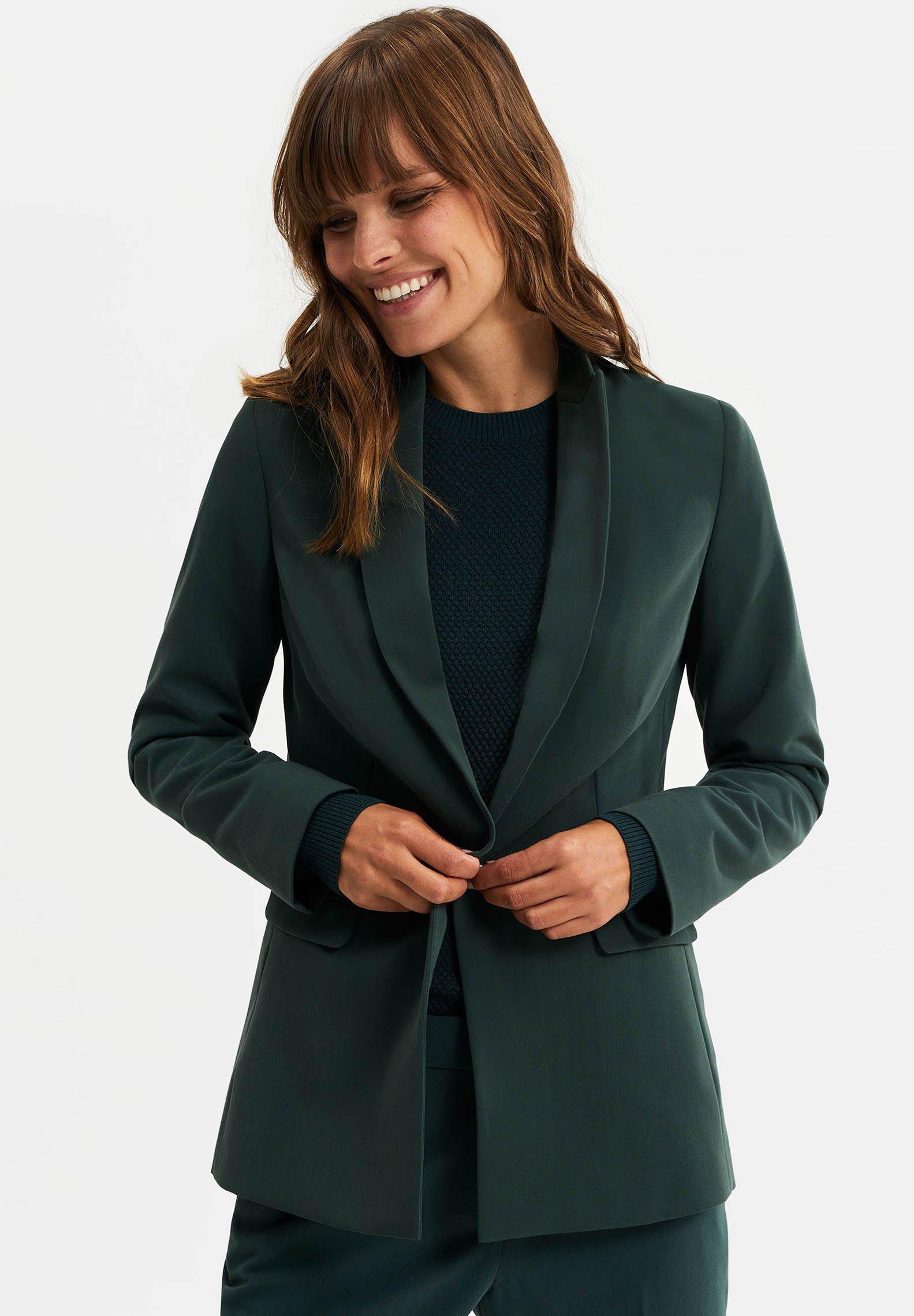 Blazer dark green