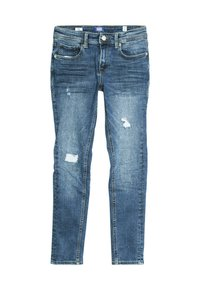 Jack & Jones Junior - JJILIAM JJIORIGINAL - Jeansy Skinny Fit - blue denim - 0