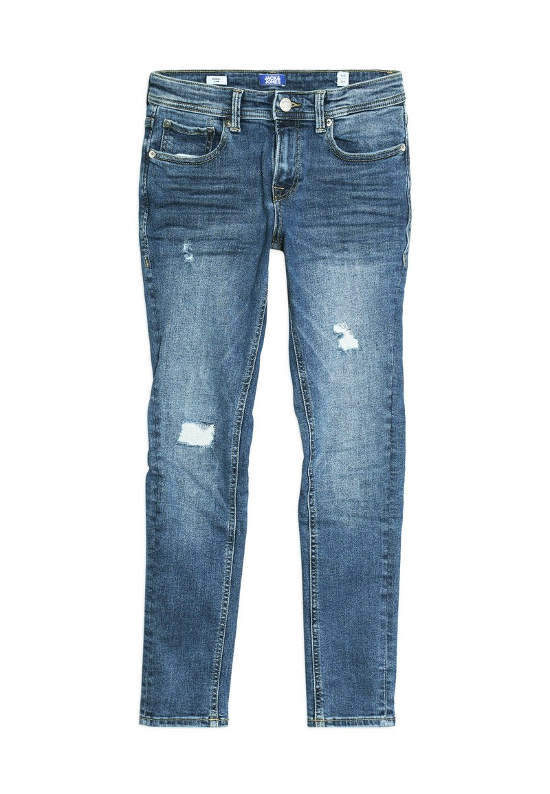Jack & Jones Junior - JJILIAM JJIORIGINAL - Jeansy Skinny Fit - blue denim
