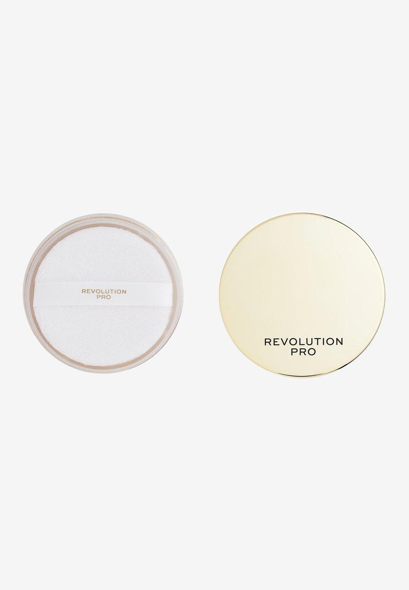 Revolution PRO - GLOW FINISHING POWDER RADIATE - Setting spray & powder - -