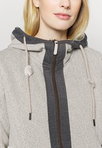 Luhta - HAUKILAHTI - Fleece jacket - natural white - 5