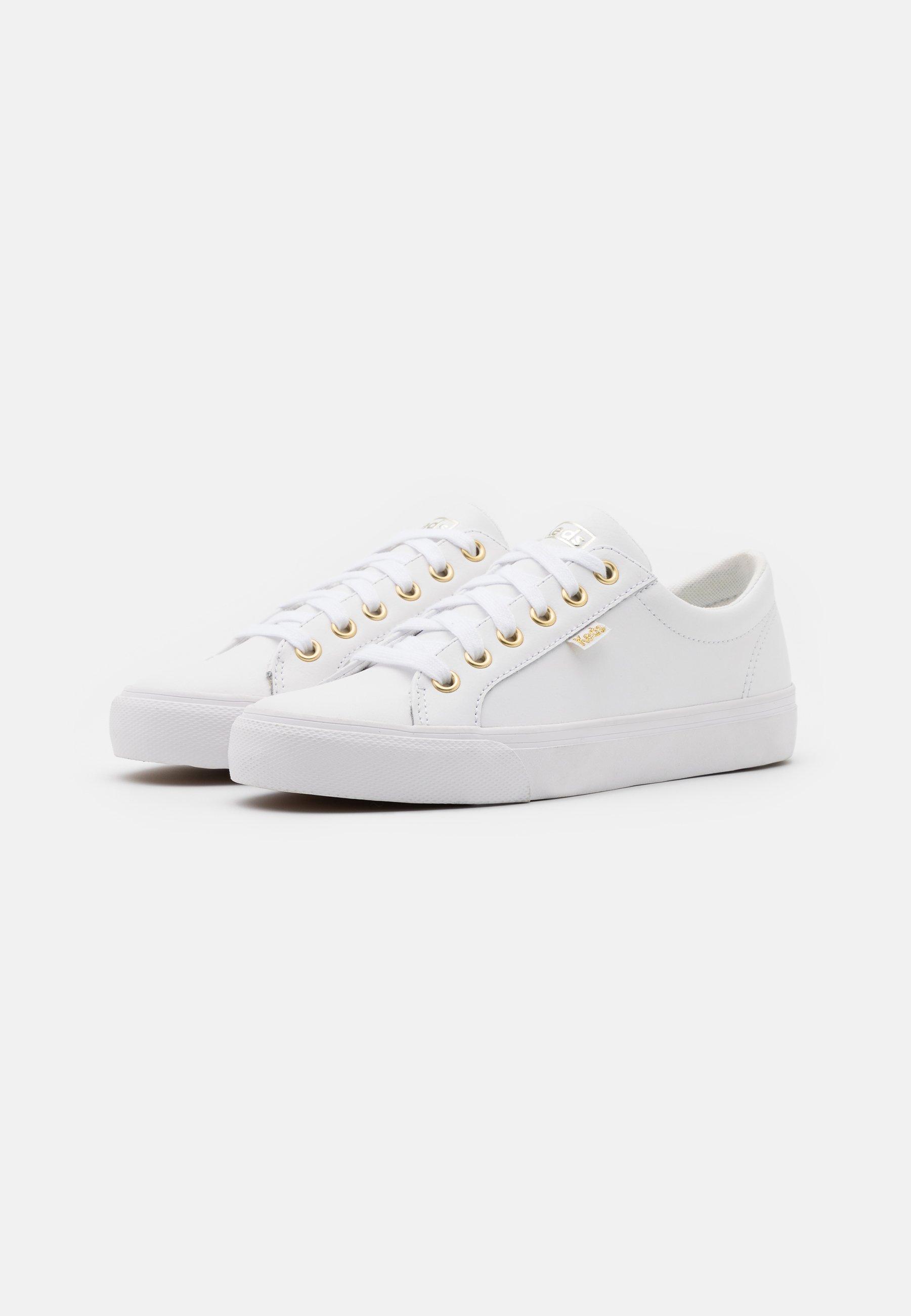 Keds JUMP KICK Sneaker low white/gold/weiß
