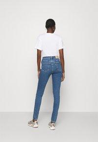 Calvin Klein Jeans - HIGH RISE SKINNY - Skinny džíny - blue - 2