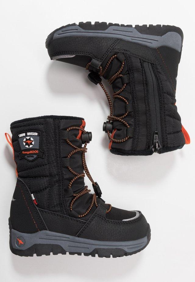 SERGEANT RTX - Winter boots - jet black/orange