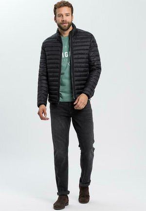 Light jacket - czarny