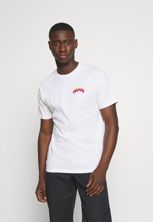 MICHAEL WALRAVE  - Camiseta estampada - white