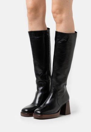 BETINA - Platform boots - noir