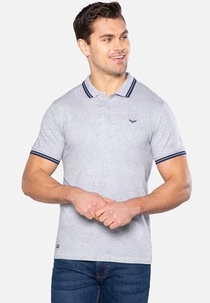 3 PACK - Polo shirt - navy / grey marl / black