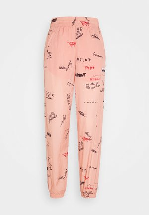 TRACK PANT - Pantalones deportivos - trace pink