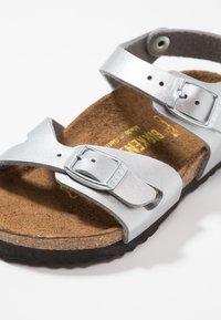 Birkenstock - RIO KIDS - Sandals - silber - 2