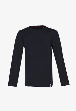 LONGSLEEVE BASIC - Long sleeved top - black