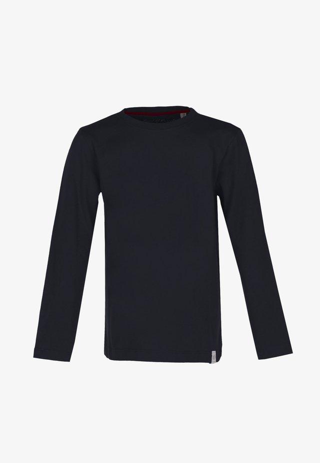 LONGSLEEVE BASIC - Pitkähihainen paita - black