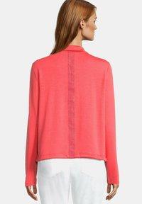 Betty Barclay - Zip-up sweatshirt - cayenne - 2