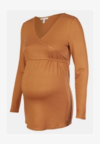 Esprit Maternity - Long sleeved top - rust - 4