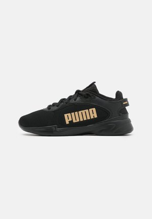 JARO FRESH - Neutral running shoes - black/team gold