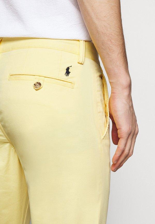 Polo Ralph Lauren BEDFORD PANT - Chinosy - empire yellow/żÓłty Odzież Męska QNYT