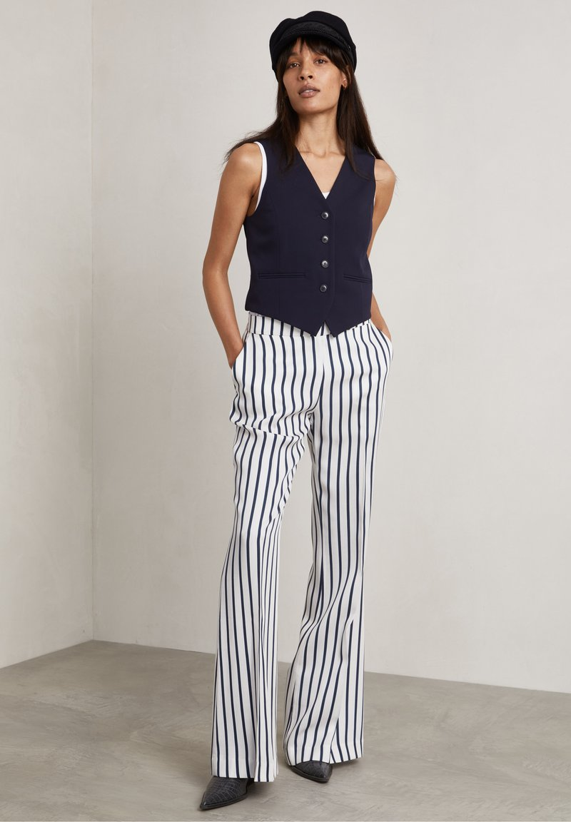 Hunkydory - RON - Trousers - true navy stripe