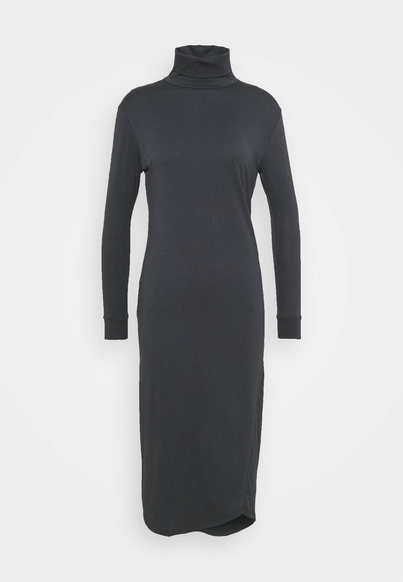 Casa Amuk - TURTLE NECK DRESS - Pouzdrové šaty - asphalt